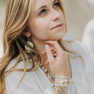 Marie K bracelet collier boucle d'oreille