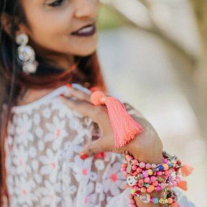 Marie K bracelet boucles d oreilles collier