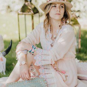 Marie K robe montre bracelet