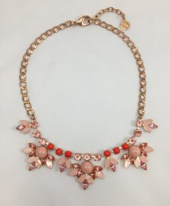 Bijoux fantaisies reminiscence collier peach
