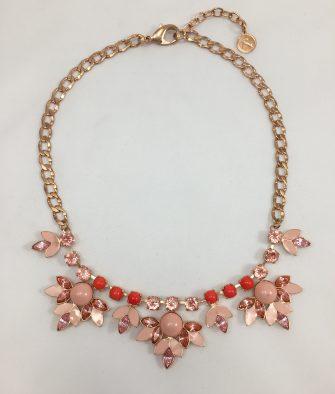Bijoux fantaisies reminiscence collier peach