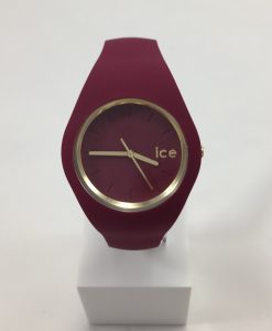 Montre Ice Watch Ice Glam bordeau