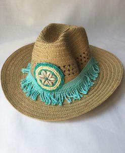 Accessoires Chapeau Fleur de pirate Coquillage