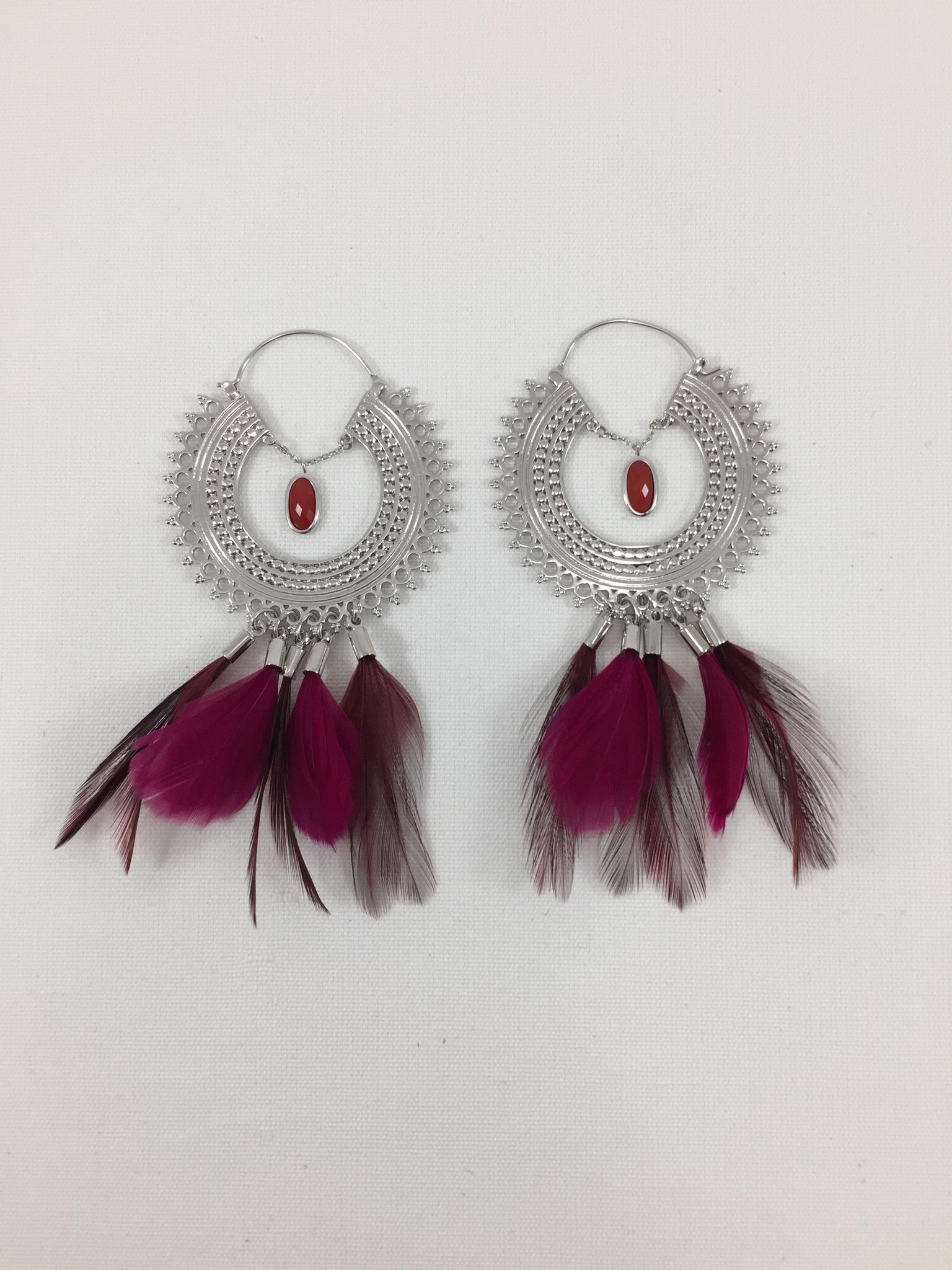 Pré-commander avant-garde de l'époque sur des coups de pieds de Boucles d'oreilles Hipanema Adore | Marie K, boutique de bijoux fantaisies