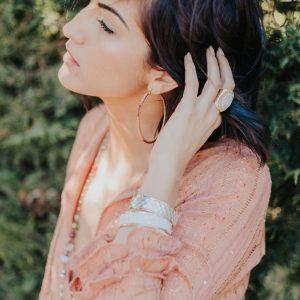Marie K Collier Barbara Haug Bague Hypnochic Bracelet Opale Boucles d oreilles Melz