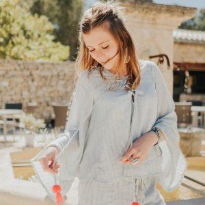 Marie K Blouse Short Sundress Bague Close to Zen