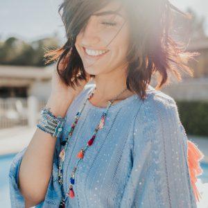 Marie K Bracelet Hipanema Collier Reminiscence