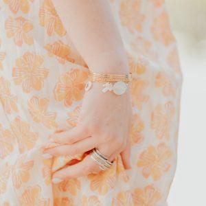 Marie K Robe Stella Forest Bracelet Brin d'Amour Bague Jeh