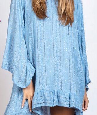 Prêt-à-porter Robe Sundress Indiana Petra Blue