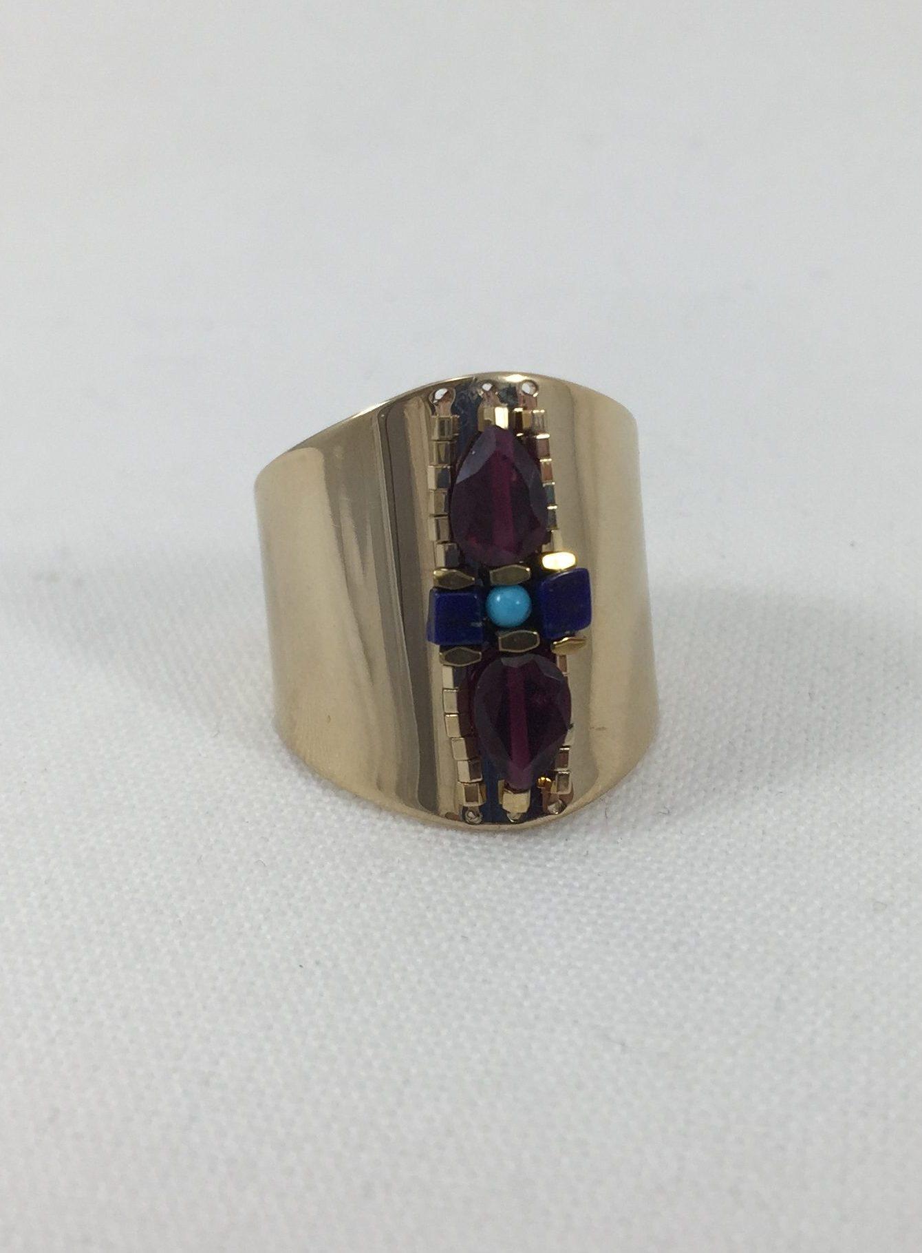 c788765beba528 Bague Satellite Dakota   Marie K boutique de bijoux fantaisies