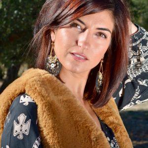 Marie K Boucles d'oreilles Satellite Gilet Amenapih