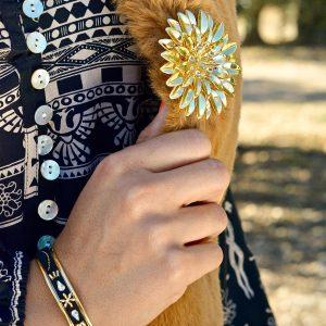 Marie K Bracelet Satellite Gilet Amenapih Robe Sand Coachella