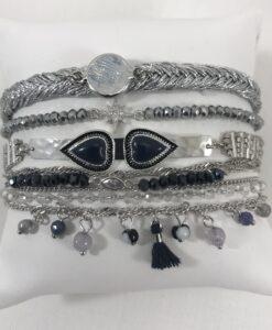 Bijoux Fantaisies Bracelet Hipanema Splendor Blue
