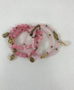 Bijoux fantaisies Bracelet T'as vu la Vierge Rosa