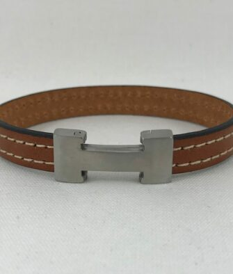 Bijoux Homme Bracelet Magnum Ermès Camel