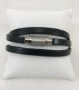 Bracelet Magnum Magnetic 3 tours Noir
