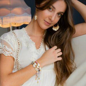 Marie K bracelet Hypnochic, BO Melz, robe Stella Forest