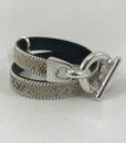 Bijoux Fantaisies Bracelet Secret de Cuir Serpent