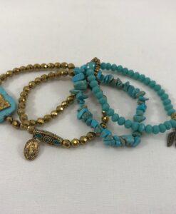 Bijoux fantaisies Bracelet T'as vu la Vierge Eagle