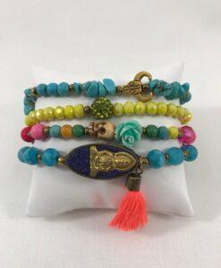 Bijoux fantaisies Bracelet T'as vu la Vierge Pensée