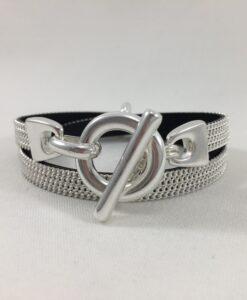 Bijoux Fantaisies Bracelet Secret de Cuir Stephanie