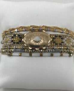 Bijoux Fantaisies Bracelet Hipanema Eldorado Gold