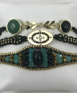 Bijoux Fantaisies Bracelet Hipanema Eddie link