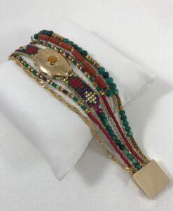Bijoux Fantaisies Bracelet Hipanema Eldorado Terracotta