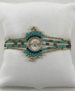Bijoux Fantaisies Bracelet Hipanema Inuit Turquoise
