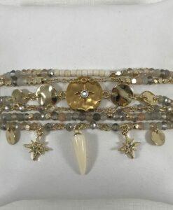 Bijoux Fantaisies Bracelet Hipanema Extase White