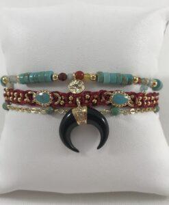 Bijoux Fantaisies Bracelet Hipanema Teepee Turquoise