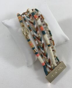 Bijoux Fantaisies Bracelet Hipanema Cubanita White