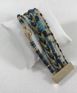 Bijoux Fantaisies Bracelet Hipanema Cubanita Black