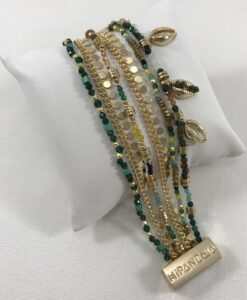 Bijoux Fantaisies Bracelet Hipanema Appolon Green