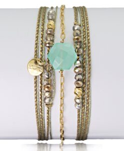 Bijoux Fantaisies Bracelet Lo et Ma Hexagone