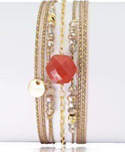 Bijoux Fantaisies Bracelet Lo et Ma Hexagone 4