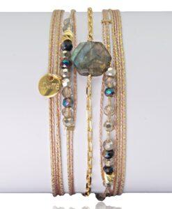 Bijoux Fantaisies Bracelet Lo et Ma Hexagone 3