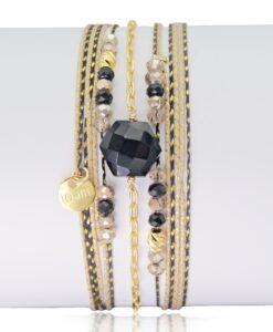 Bijoux Fantaisies Bracelet Lo et Ma Hexagone 2