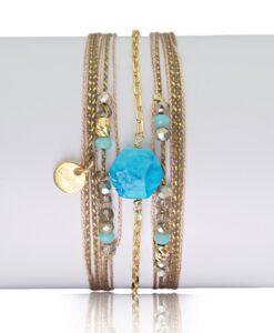 Bijoux Fantaisies Bracelet Lo et Ma Hexagone 6