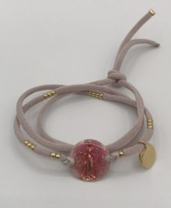 Bijoux Fantaisies Bracelet Bee Valentina Apparition Fushia