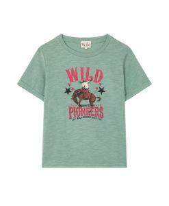 Prêt à porter Tee-shirt Wild Horsy Sauge