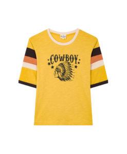 Prêt à porter Tee-shirt Wild Floyd Yellow