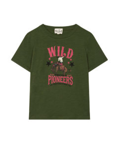 Prêt à porter Tee-shirt Wild Horsy Khaki