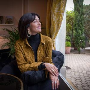 Marie K Bagues Bronzallure Chemise Wild Boucles d'Oreilles Gas