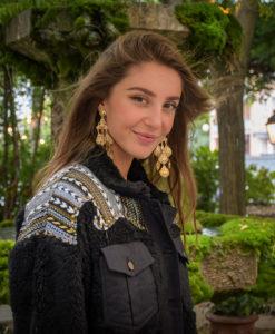 Marie K Boucles Gas Veste Wild