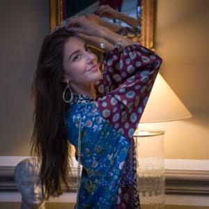 Marie K Kimono Fleur de pirate Bijoux Bee Valentina