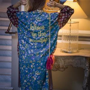 Marie K Kimono Fleur de pirate Sac Wild by Amenapih