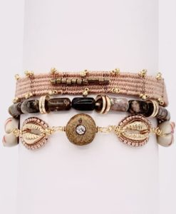 Bijoux Fantaisies Bracelet Hipanema Robinson Blush