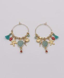 Bijoux Fantaisies Boucles d'Oreilles L'Atelier des Dames Frida 3