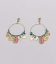 Bijoux Fantaisies Boucles d'Oreilles L'Atelier des Dames Frida 2